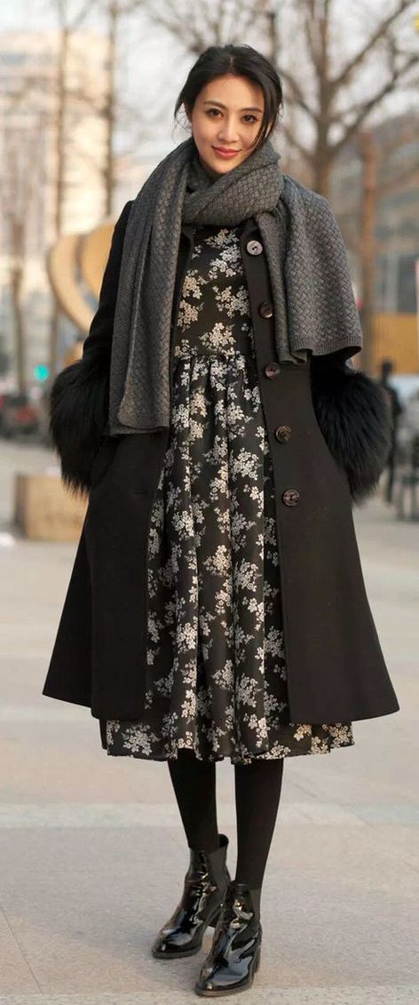 chinese winter fashion