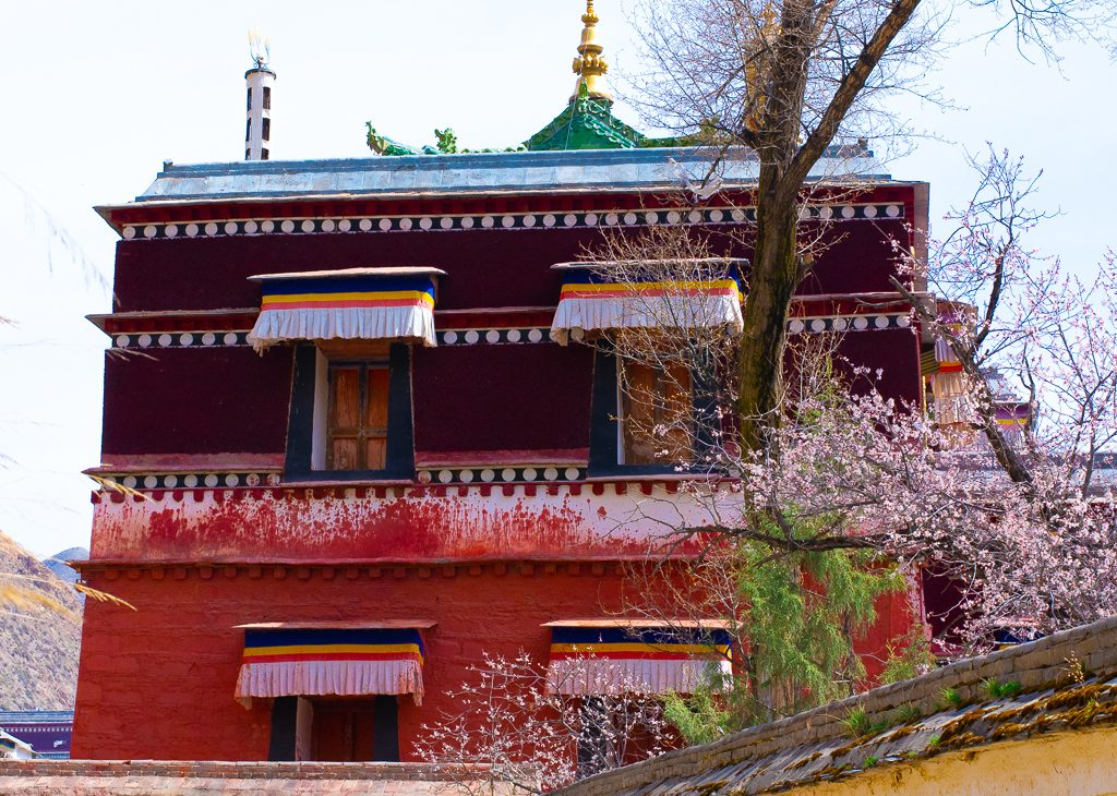 Labrang Monastery buildings